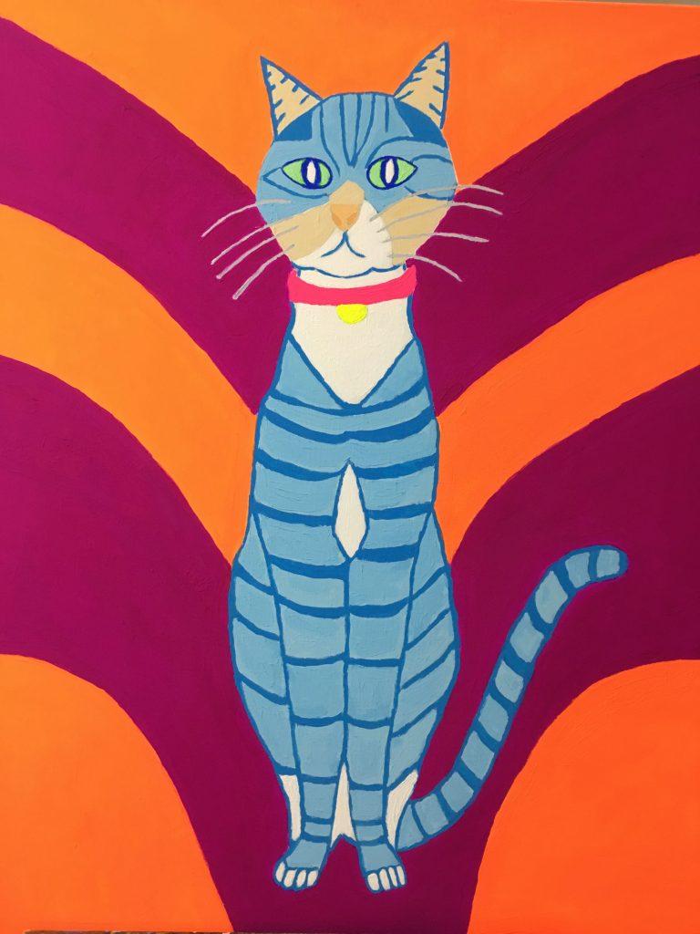 KAMOYA Masatoshi | Vigorous cat