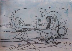 Anna Parmenova Talking off – contemplating, landing – speaking 03