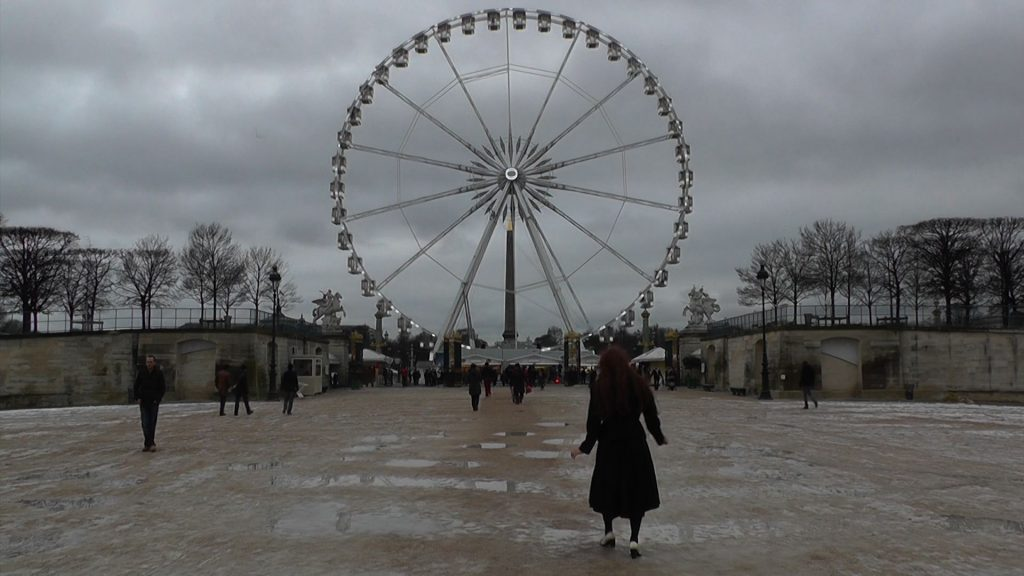 Miriame Chamekh | La Sombre Sautillante / La grande roue